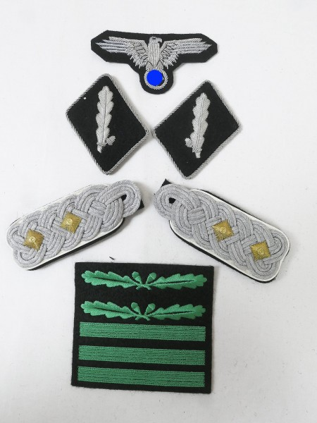 Set Effects Badges Weapons Elite Shoulderboards Sleeve Eagle Collar Mirror for Standard Guide