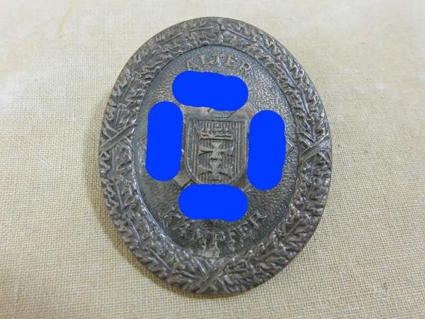 Gau Tradition Badge of Honor Gau badge Old fighter NSDAP Gau Gdansk